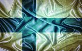 Vintage Finland flag. — Stock Photo