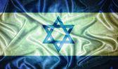 Bandeira de israel vintage. — Foto Stock