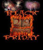 Black Friday November 29. — Stock Photo