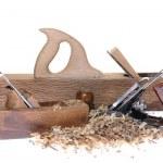 Carpenter tools. — Stock Photo #36887887