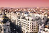Sunrise in Madrid — Stock Photo