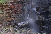 Water wheel forge. — Stock Photo