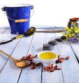 Massage oil. — Foto Stock