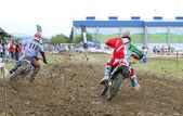 Motorcross in El Berron, Asturias, spain — Photo