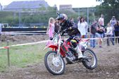 Motocross in El Berron, Asturias, spain — Foto de Stock