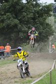 Motocross in El Berron, Asturias, spain — Stockfoto