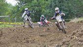 Motocross a valdesoto, asturias, spagna — Foto Stock