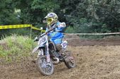 Motocross in Valdesoto, Asturias, Spain — Foto de Stock