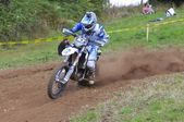Motocross in Sariego, Asturias, Spain — Foto de Stock