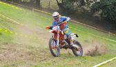 Motocross in Sariego, Asturias, Spain — Stock Photo