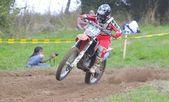 Motocross a sariego, asturias, spagna — Foto Stock