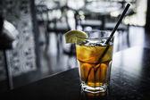 Iced Cold Refreshing Iced Tea — Stock Photo