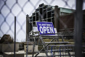 After Hurricane Sandy: Asbury Park - The Shore is Open — Stock Photo