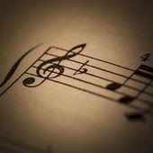 Vintage Sheet Music — Foto de Stock