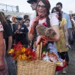 Постер, плакат: Asbury Park Zombie Walk 2013 Dorothy and Toto