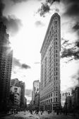 The Famous Flatiron Building - New York City — Stock Photo
