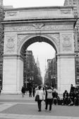 Washington Square Park, New York City — Stock Photo