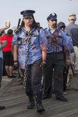 Asbury Park Zombie Walk 2013 - Zombie Police — Stock Photo