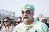 Asbury Park Zombie Walk 2013 - Zombie Doctor — Stock Photo