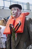 Asbury Park Zombie Walk 2013 - Titantic  Victim — Stock Photo