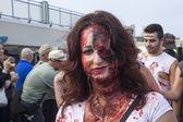 Asbury Park Zombie Walk 2013 — Stock Photo
