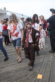 Asbury Park Zombie Walk 2013 - Little Zombie Boy — Stock Photo