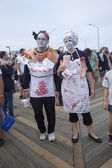 Asbury Park Zombie Walk 2013 - Take Out Zombies — Stock Photo