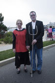 Asbury Park Zombie Walk 2013 - American Gothic — Stock Photo