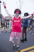 Asbury Park Zombie Walk 2013 - Richard Simmons — Stock Photo