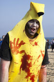 Asbury Park Zombie Walk 2013 - Banana Zombie — Stock Photo