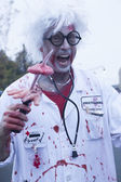 Asbury Park Zombie Walk 2013 - Doctor Zombie — Stock Photo