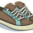 Casual Sneakers — Stock Vector
