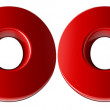 2009 - 3d red date — Stock Photo #13283173