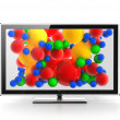 Led  Plasma LCD vivid screen concept — Stock Photo