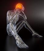 Head Pain concept — Stock Photo