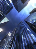 Modern gebouw in de stad — Stockfoto