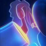 Middle ear anatomy — Stock Photo
