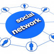 Royalty-Free Stock Photo: Social Network Concept