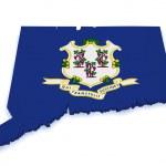 Connecticut Map 3d Shape — Stock Photo #13605820