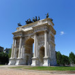 Arco Della Pace, Milan, Italy — Stock Photo