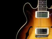 Vintage elektrische gitaar — Stockfoto