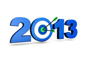 New Year 2013 Goal — Stock Photo
