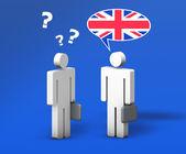 Business English Chat — Stock Photo