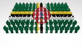 Dominica Parade — Stock Photo