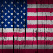 USA Flag Grunge Background — Stock Photo