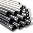 Industrial Metal Tubes — Stock Photo #23299014