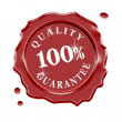 Stock Photo: Wax Seal Quality Guarantee