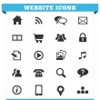 Stock Vector: Website Icons Vector Set