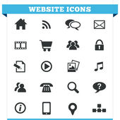 Website Icons Vector Set — Stock Vector