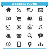 Website Icons Vector Set — Stock Vector